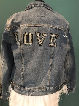 "Jeansjacke ""Feather"""