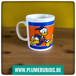 Vintage, Une tasse mug Donald Duck