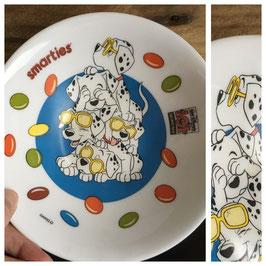Vintage, Ravier Arcopal 101 dalmatiens Smarties