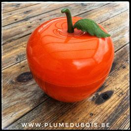 Vintage seau à glace SOMM pomme orange