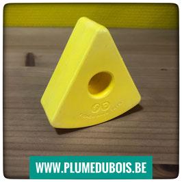 Vintage. Fisher Price. Bloc triangle jaune