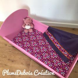 Création PlumeDubois, très joli petit lit de poupée