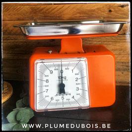 Vintage balance de cuisine Stube 7000 orange neuve