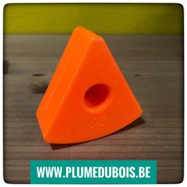 Vintage. Fisher Price. Bloc triangle orange