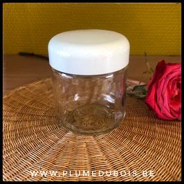 Vintage pots en verre pour yaourtière ainsi que pot sans couvercle à la pièce