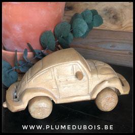 Vintage voiture VW cox en bois