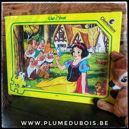 Disney vintage puzzle blanche neige Clementoni
