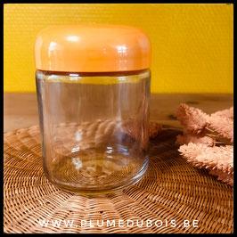 Vintage pot en verre de yaourt pour yaourtière AEG