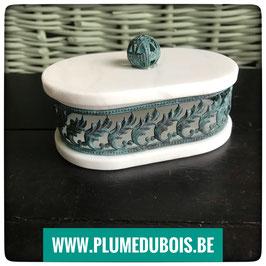 Petite boite en albatre Vero Alabastro