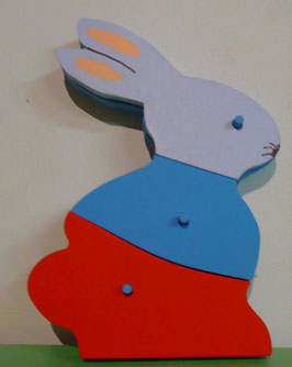 Puzzle lapin 1 er âge