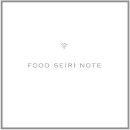 FOOD SEIRI NOTE