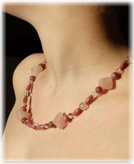 Edelstein Halskette