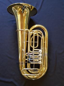 """Tuba """"Helios"""" - 4-ventilig - mit Zubehör und Koffer"""