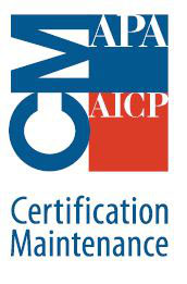 "* This ""CAV 101"" course is approved for 5.0 hours of Certification Maintenance (CM) credit for the American Institute of Certified Planners (AICP)"