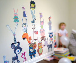 Fantasy Forest Critters Wall Decal-Wall Sticker