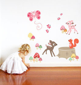 Enchanted Woods Wall Decal-Wall Sticker by Cocoon Couture
