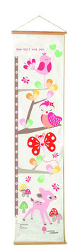 Hanging Height Chart by Cocoon Couture -Enchanted Forest or Jungleland by Cocoon Couture
