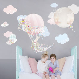 Magical Balloon Wall Decal-Wall Sticker