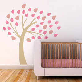 Windy Tree Wall Decal-Wall Sticker