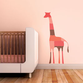 Giraffe Puzzle Wall Decal-Wall Sticker