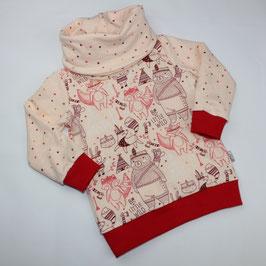 Schalkragen Pullover