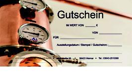 Gutschein - Gin Tasting