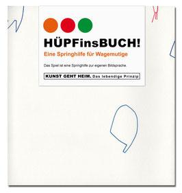 KUNSTvorSPRUNG | HÜPFinsBUCH!