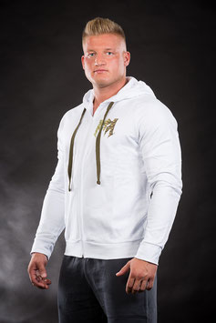 Lightweight Sweatjacket White Camo
