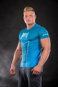 Compression Shirt Blau
