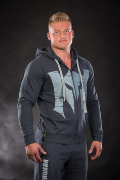 Lightweight Sweatjacket Grey