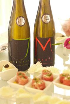 父の日ギフトセット「ヨゼフ」ワインと「マリア」ワイン