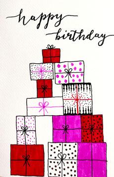Happy Birthday - Geschenke