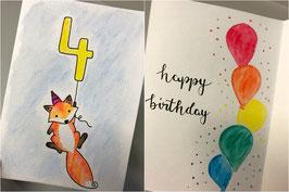 Happy Birthday - Kindergeburtstag - personalisierbar