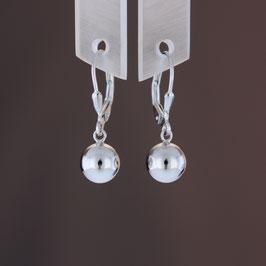 Ohrhänger aus rhodiniertem 925-Sterlingsilber