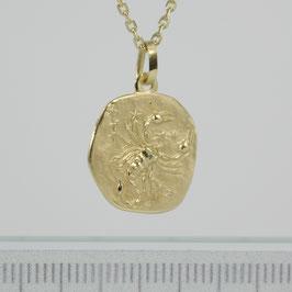 """Anhänger """"Sternzeichen Skorpion"""" aus 333-Gelbgold"""