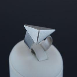 Offener Ring aus 925-Sterlingsilber