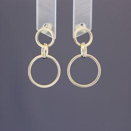 Ohrhänger aus 585-Gelbgold