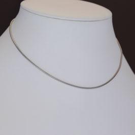 Schlangenkette aus 333-Weißgold