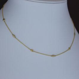 Collier aus 585-Gelbgold