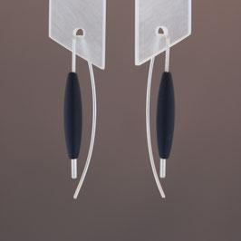 Ohrhänger aus 925-Sterlingsilber und Achat