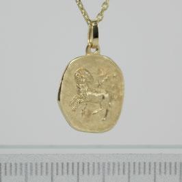 """Anhänger """"Sternzeichen Widder"""" aus 333-Gelbgold"""