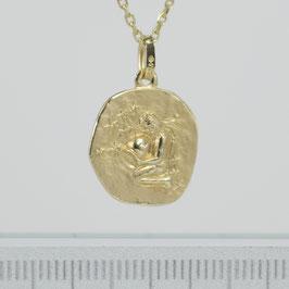 """Anhänger """"Sternzeichen Wassermann"""" aus 333-Gelbgold"""