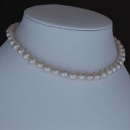 Halskette aus 925-Sterlingsilber und Süßwasserzuchtperle