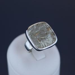 Ring aus 925-Sterlingsilber und Pyrit