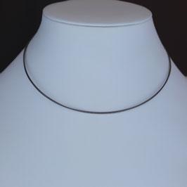 5-reihiger Edelstahlreif mit Verschluss aus 925-Sterlingsilber
