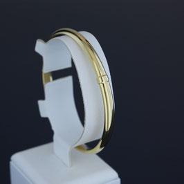 Armreif (5,5 mm) aus 585-Gelbgold