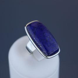 Ring aus 925-Sterlingsilber und Lapislazuli