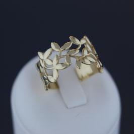 """Ring """"Olivenzweig"""" aus 585-Gelbgold"""