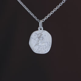 """Anhänger """"Sternzeichen Schütze"""" aus rhodiniertem 925-Sterlingsilber"""