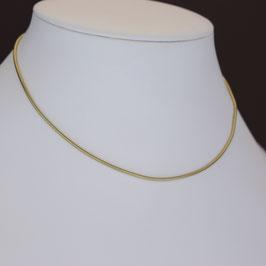 Schlangenkette aus 333-Gelbgold